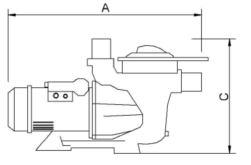 pool filter electrical outlet