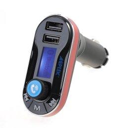 fm transmitter agptek hands free car kit charger support sd card usb [ 1000 x 1000 Pixel ]