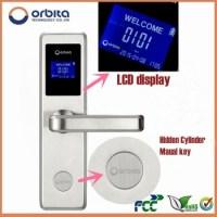 Orbita Brand New Design Rfid Hotel Card Reader Door Lock ...