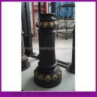 Cast Aluminum Outdoor Lamp Post Parts Base - Buy Cast ...