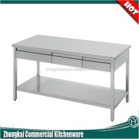 Factory Direct Wholesale Stainless Steel Drawer Table ...