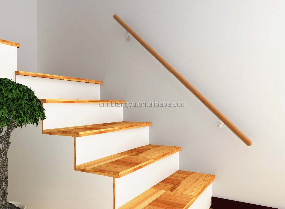 Round Timber Handrail For Indoor Steps Wood Handrail Design Wood | Wooden Handrails For Steps | Iron | Different Kind Wood | Wood Patio | Rustic | Staircase Wooden