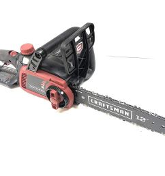 get quotations craftsman 98023 40v 12 lithium ion cordless chainsaw tool only no battery [ 1500 x 1147 Pixel ]