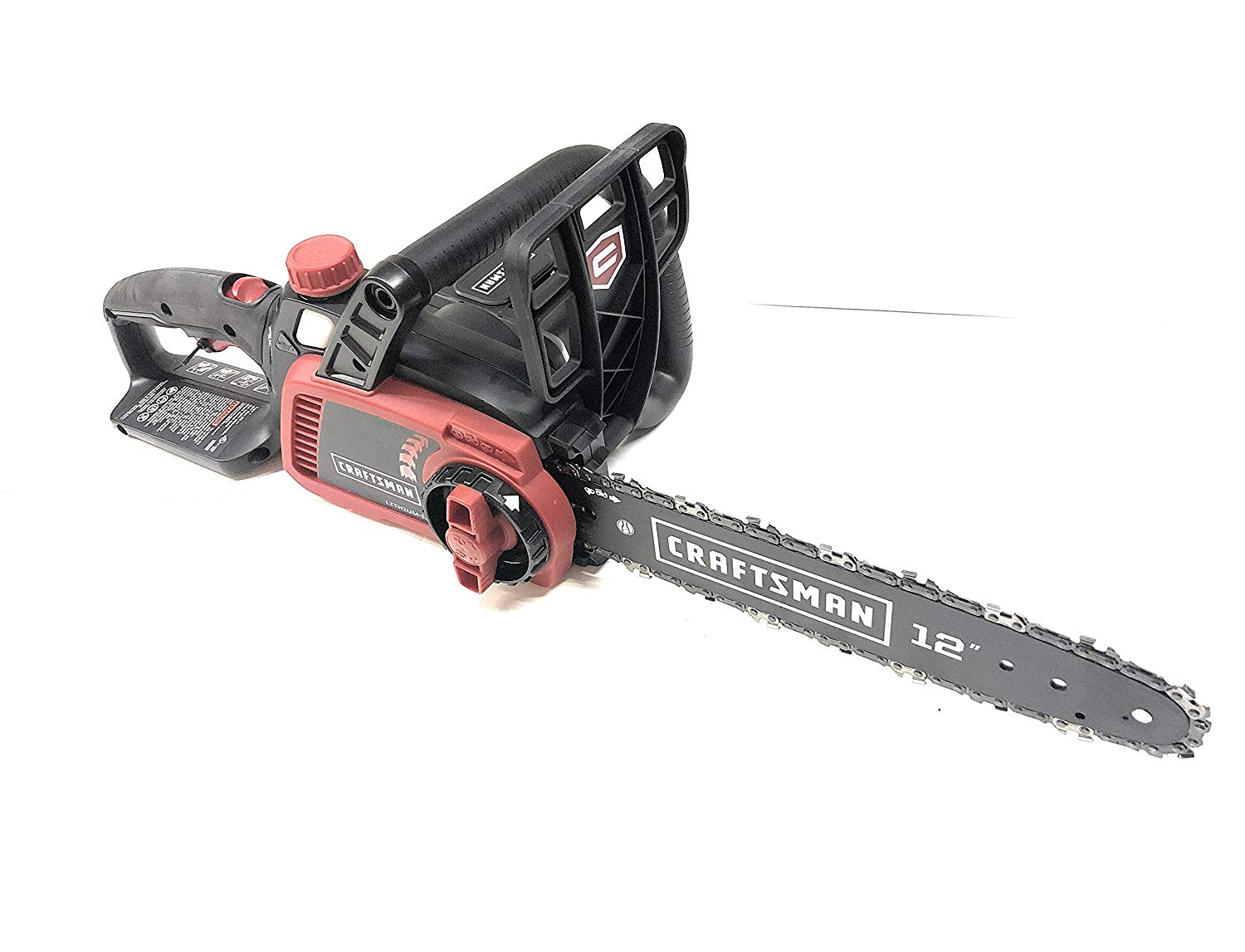 hight resolution of get quotations craftsman 98023 40v 12 lithium ion cordless chainsaw tool only no battery