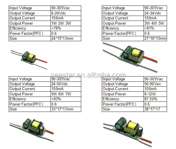 3w led driver circuit diagram 94 ford explorer wiring bis approved output 12-36vdc 300ma mini constant current 4-7w input voltage 85-265vac ...