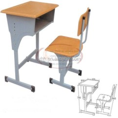 Study Desk And Chair File Holder Nursery School Furniture Kids Table With Bench