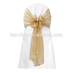 Chair Covers And Sashes For Sale Leather Patch Organza Sash Wedding Bow Cover Buy