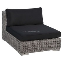 American Style Natural Color Wicker Luxury Outdoor