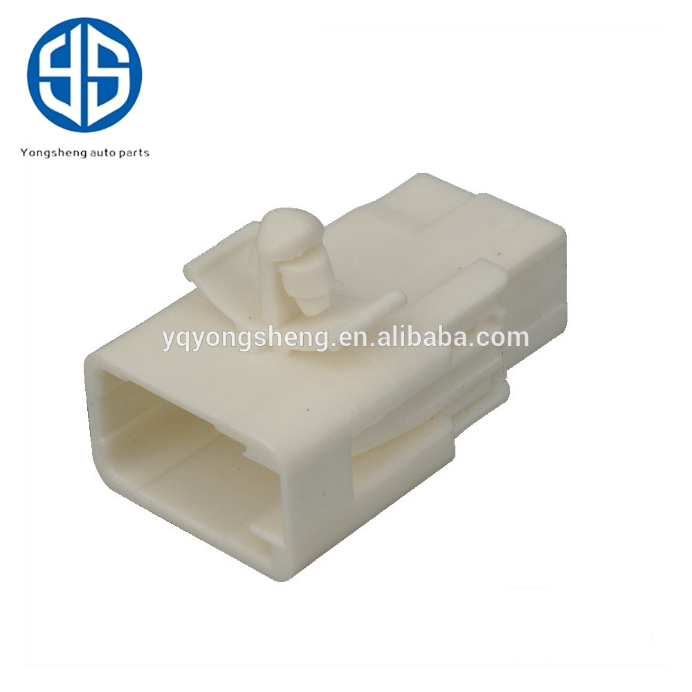 medium resolution of pbt 6098 2679 sumitomo sl series 6 pin unsealed male connector with body fastening clamp auto wire harness connector