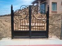 Simple Iron Gate Design,Security Iron Gates,Rot Iron Gates ...