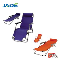 Portable Reclining Chair Malkolm Swivel Cheap Folding Sun Lounger Outdoor Beds With Footrest Bed Beach