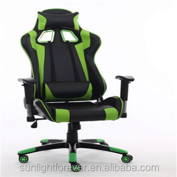 top gaming chair bedroom gamer ergonomic black purple swivel computer desk seat pu leather racing