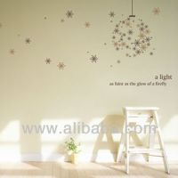 Snow Firefly Wall Decoration Sticker Wall Decals Wall ...