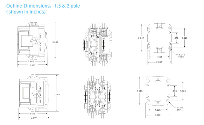 C25cnb130t Contactor Wiring Diagram