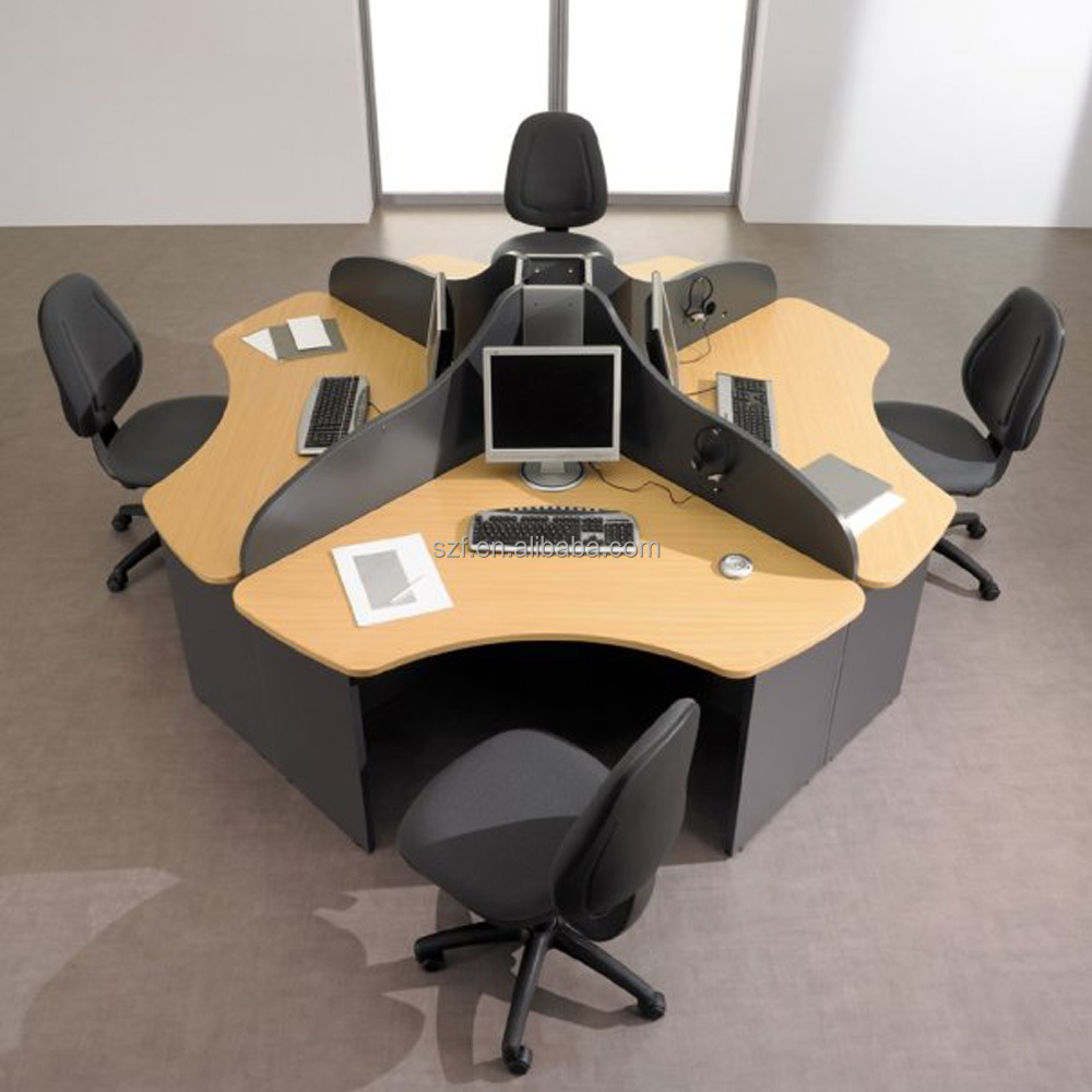 Beautiful Round Office Table and Chairs
