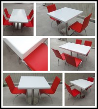 Cheap Restaurant Tables Chairs / Cafe Table Chair Set ...