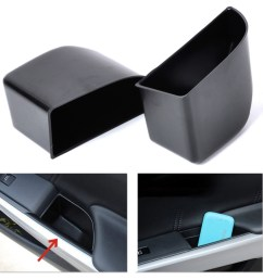 get quotations new 2pcs black rear door armrest secondary storage box container holder for honda accord 2008  [ 1000 x 1000 Pixel ]