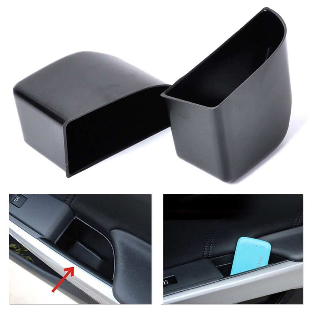 hight resolution of get quotations new 2pcs black rear door armrest secondary storage box container holder for honda accord 2008