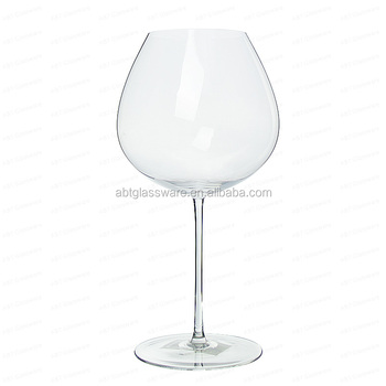 Big Balloon Crystal Red Wine Glass With Large Bowl Perfect For Chardonnay Buy Large Bowl Wine Glass Big Crystal Wine Glass Balloon Wine Glass Product On Alibaba Com