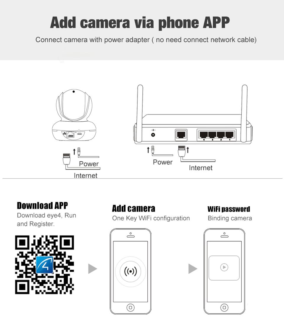 Vstarcam New Arrival C22s 1080p Wireless Ip Camera System