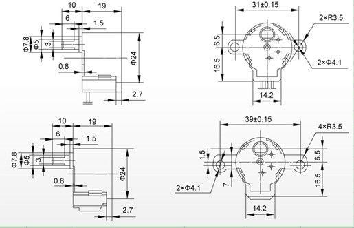 Source 3d printer stepper motor 3d printer kit parts 3d