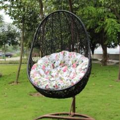 Egg Wicker Chairs Outdoor Gravity Lowes Rattan Asılı Yumurta Salıncak Sandalye Açık Balkon Hasır Tek Koltuk Sandalye-patio ...