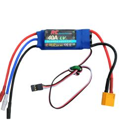 get quotations 40a rc brushless motor electric speed controller esc 3a ubec with xt60 3 5mm bullet [ 1499 x 1500 Pixel ]