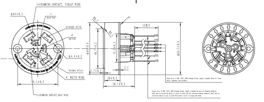 medium resolution of nema socket photocell