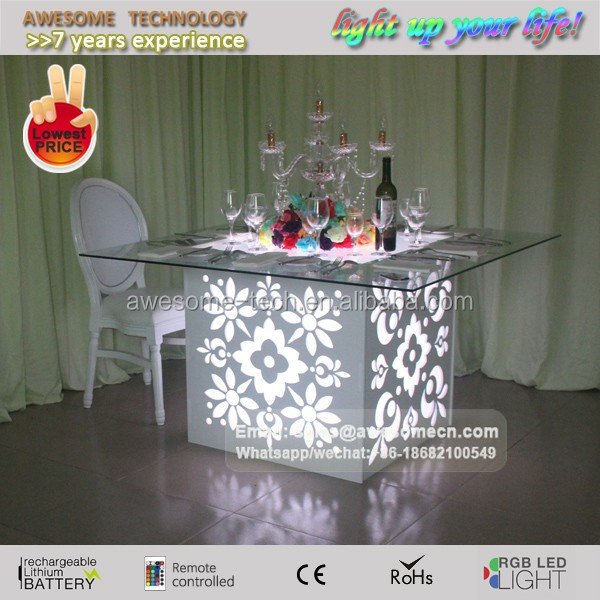 diy table base for glass top led lighted wedding decor table buy diy wedding table unique glass table bases decorative furniture table base