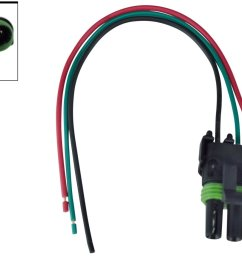 get quotations wire connector pigtail ls 3bar map manifold absolute pressure sensor ls1 lsx plug turbo 551211 [ 1296 x 864 Pixel ]