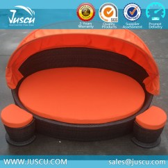 Canopy Daybed Outdoor Wicker Sun Sofa Lounge Two Cushion Slipcover List Manufacturers Of Furniture With Canopy, Buy ...