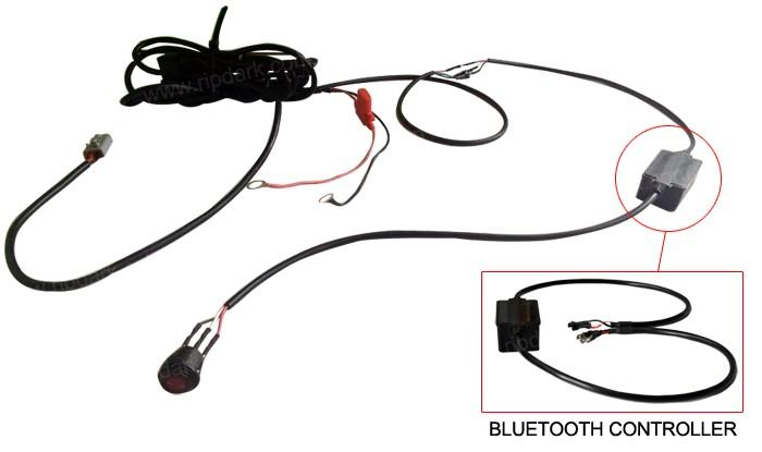 Universal Fog Light Tail Light Wiring Harness For Honda
