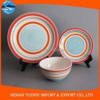 handmade Italian Ceramic dinnerware set gift boxes packing ...
