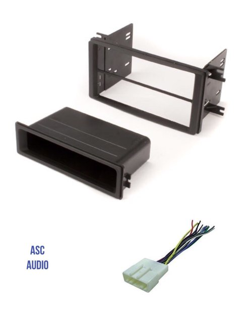 small resolution of asc car stereo install dash kit and wire harness for installing an aftermarket single or double din radio for 2009 2013 subaru forester 2008 2011 subaru