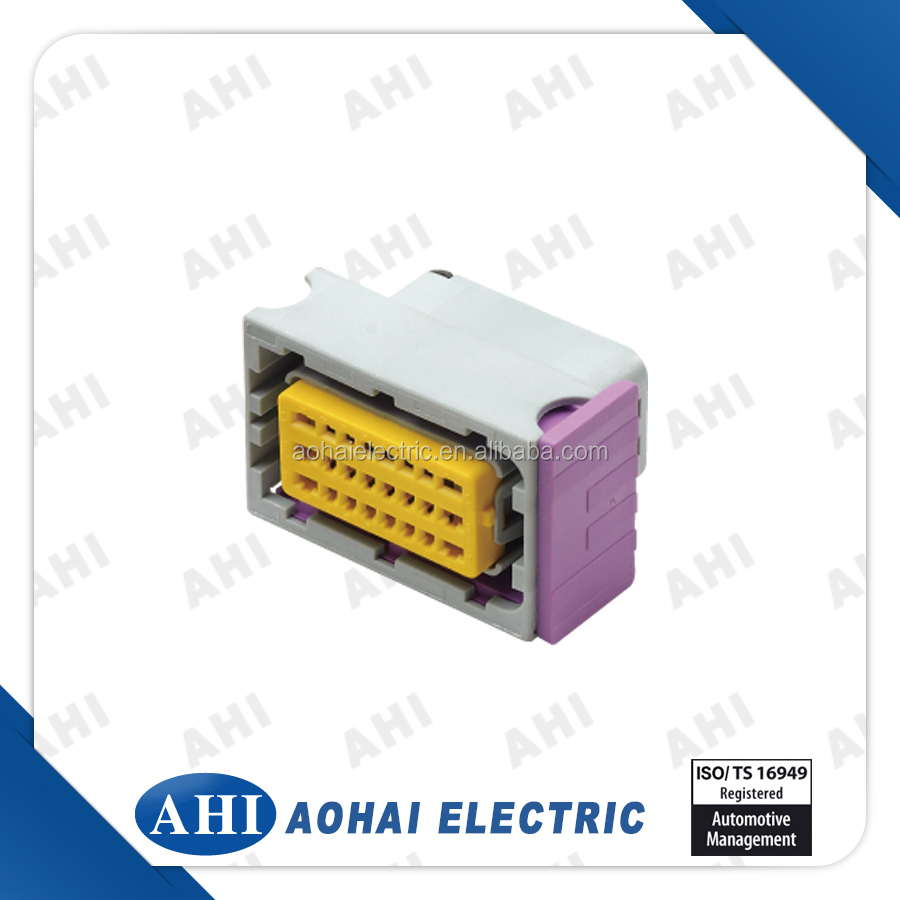 hight resolution of automotive 24 pin wire harness female ecu electronics connector made in china