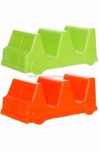 Taco Truck Holder Set,Safety Silicone Car Shaped Silicone ...