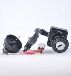 three position ignition key switch for articat dvx 400 kawasaki kfx 400 suzuki ltz 400 2005 [ 2560 x 2560 Pixel ]