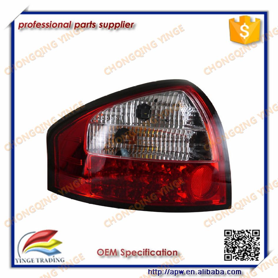 hight resolution of 2005 to 2008 year rear lamp for audi a6 lighting led red white black smoke color