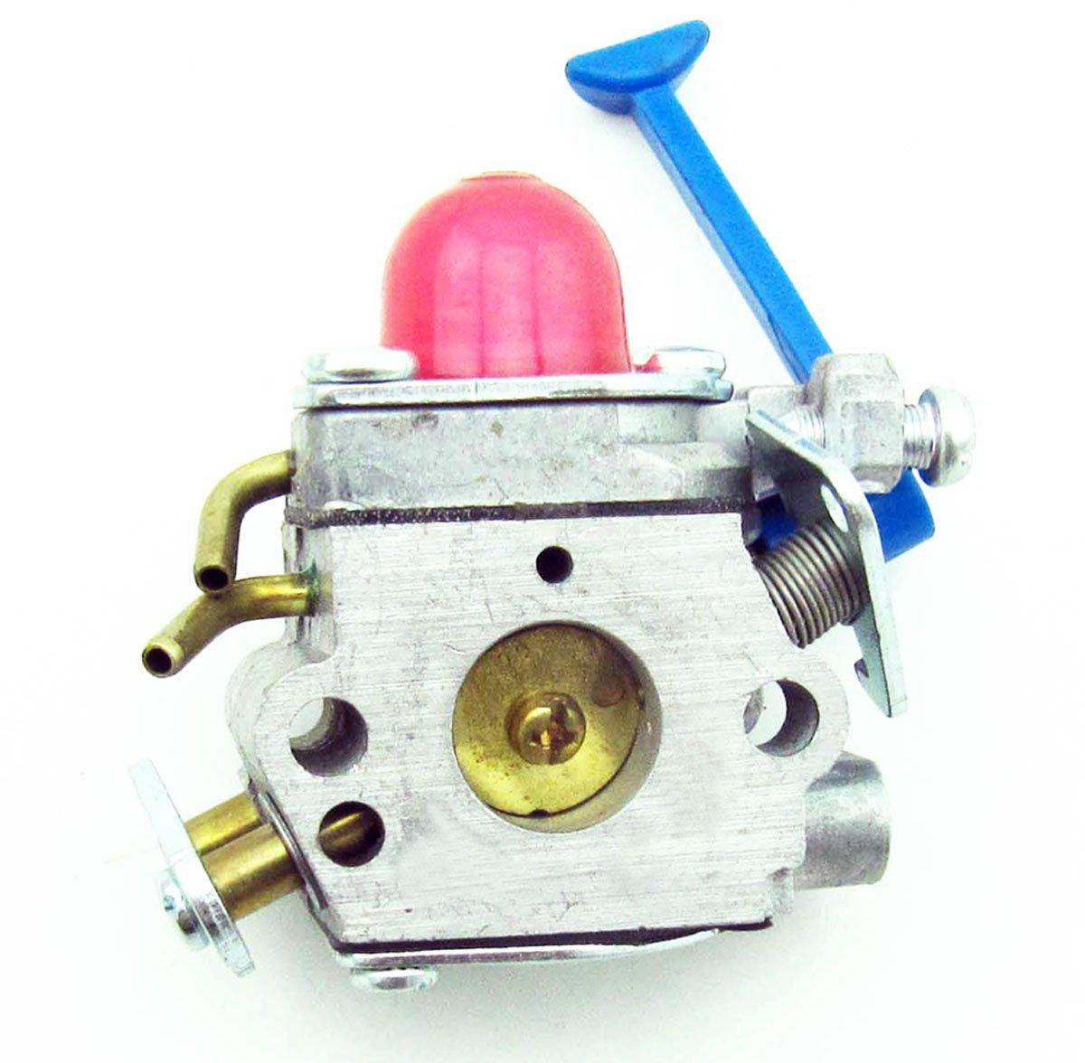 hight resolution of get quotations new husqvarna trimmer 545081848 zama carburetor c1q w40a 128c 128l 128ld 128r 128rj