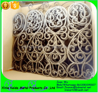 Decorative Wrought Iron Tuscan Panels For Stair Railings ...