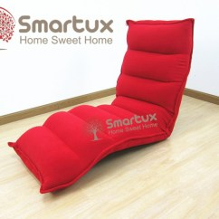 Foldable Sofa Chair Malaysia Folding Lawn Chairs With Attached Side Table Smartux Adjustable Futon Japanese Furniture Lazy Gigato