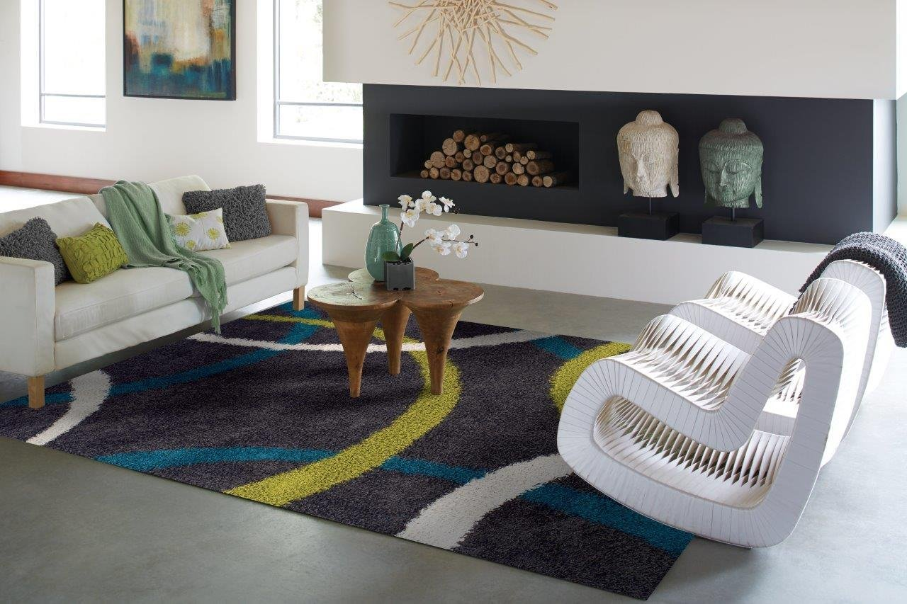 shaggy rugs for living room funky lights cheap shag rug find deals on line get quotations large soft area 6x9 wavy contemporary