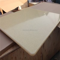 Produce Solid Surface Table Top/faux Marble Slab/engineer
