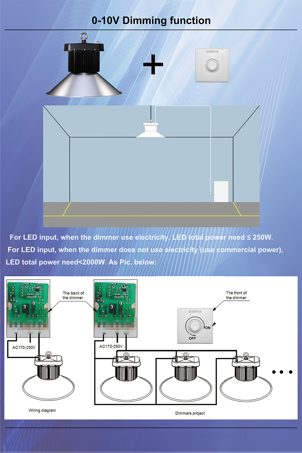 hight resolution of ali09 150w table tennis lighting housing high bay 150w low bay fixture used industrial lighting