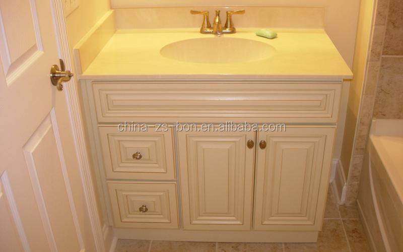 Cream Color Bathroom Vanity Cabinets With Top  Buy