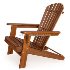 Wood Beach Chairs Swinging Chair With Stand He 178 Promotional Vintage Adirondack Sun Deckchair