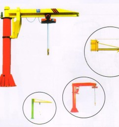 harga hoist crane 5 ton with hoist lifting rotating 360 angle [ 1000 x 814 Pixel ]