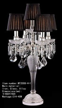 chandelier table lamps crystals | Roselawnlutheran