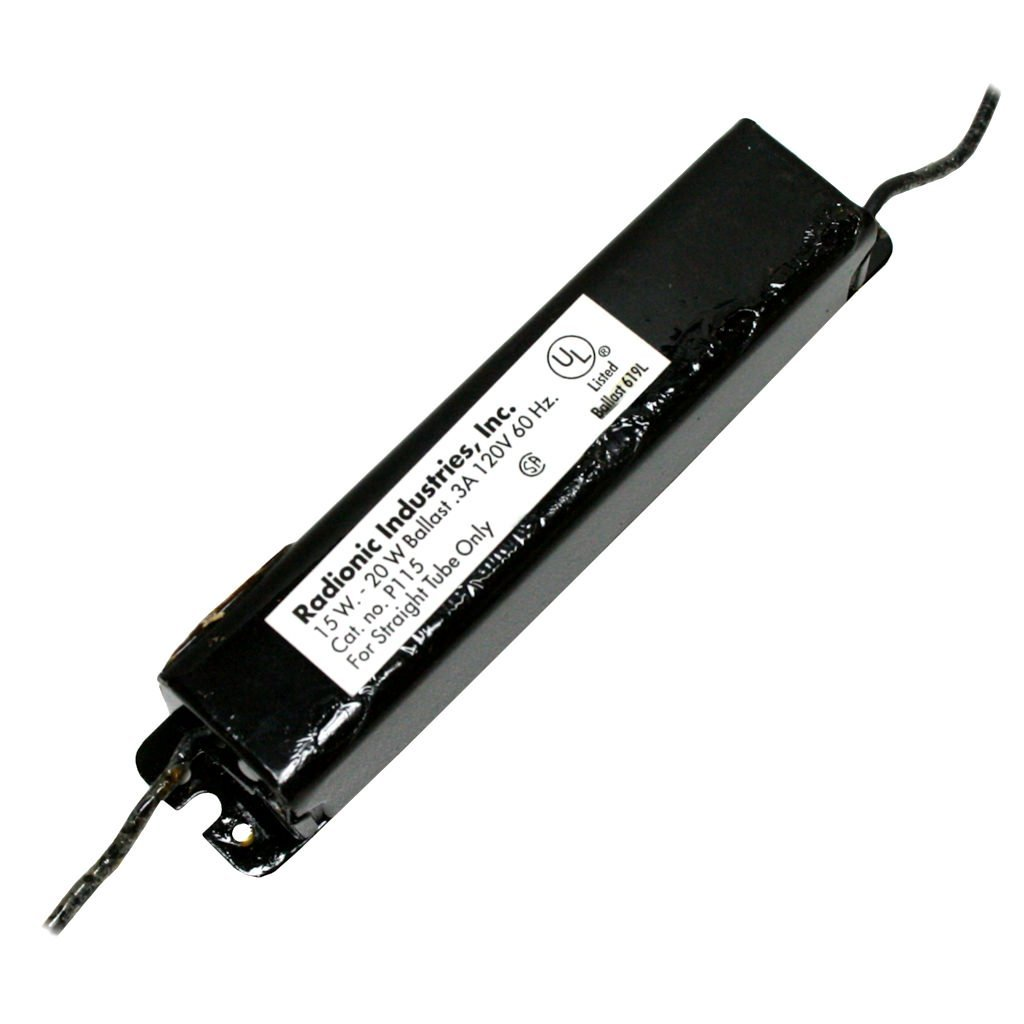 hight resolution of get quotations radionic 00115 p115 magnetic ballast t12 fluorescent ballast