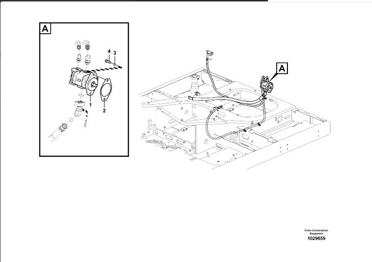 High Quality Ec460 Gear Pump 14561970 For Excavator Ec460b